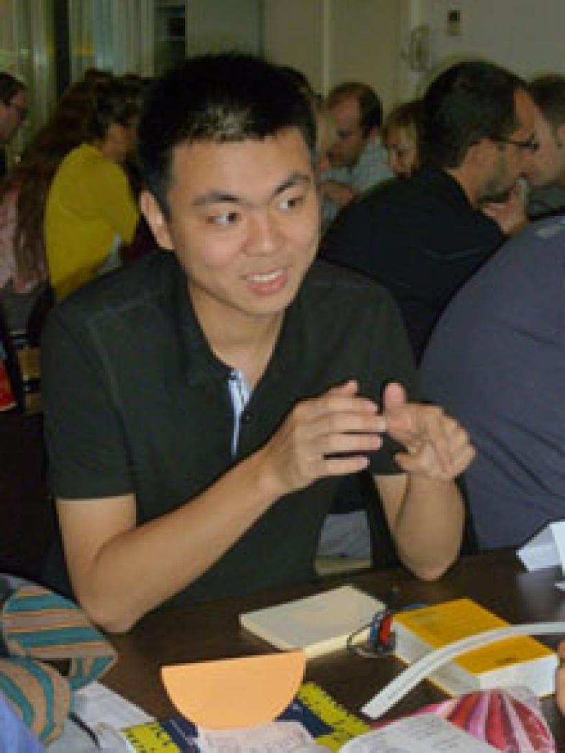 """Chen Yanjing (China): """"De belangstelling voor het Nederlands heeft vooral te maken met het voetbal en met de Nederlandse Vlaamse cultuur."""""""