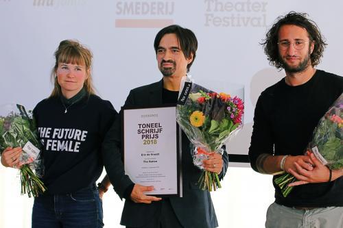 Eric de Vroedt wint Toneelschrijfprijs 2018