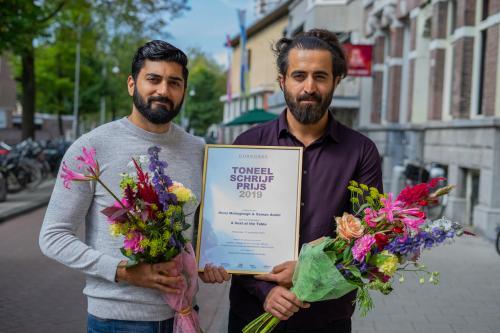 Nima Mohaghegh & Saman Amini winnen Toneelschrijfprijs 2019