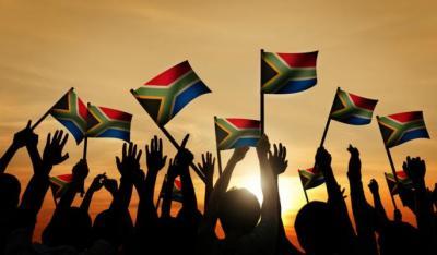 Zuid-Afrika vlag